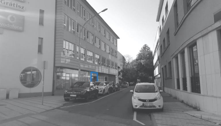 Jászberényi iroda utcakép